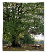 Beech Tree Britain Fleece Blanket