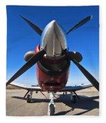 Beechcraft T-6a Texan II  Fleece Blanket
