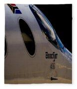 Beechjet 400 Fleece Blanket