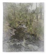 Beedelup Falls Fleece Blanket
