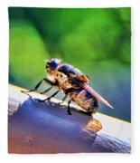 Beeing Nice By Diana Sainz Fleece Blanket