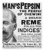Beemans Pepsin Gum, 1895 Fleece Blanket