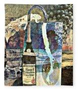 Beer On Tap Fleece Blanket