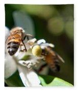 Bee's Fleece Blanket