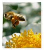 Bee's Feet Fleece Blanket