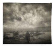 Before Storm Fleece Blanket