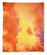 Before The Storm Clouds Stratocumulus 2 Fleece Blanket