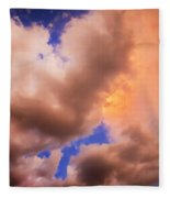 Before The Storm Clouds Stratocumulus 5  Fleece Blanket