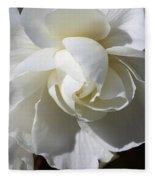 Begonia Named Nonstop Apple Blossom Fleece Blanket