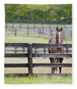 Behind Bars Fleece Blanket