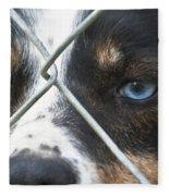 Behind Fences Fleece Blanket