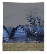 Behind The Barn Fleece Blanket
