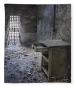 Behind The Bars Fleece Blanket