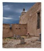 Behind The Church Fleece Blanket