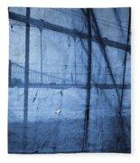 Behind The Veil - New York City Fleece Blanket
