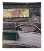 Behind The Wheel Fleece Blanket