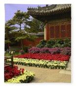 Beijing Summer Palace Fleece Blanket
