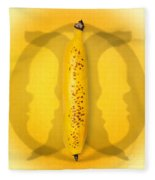 Being Bananas From Inversions In The Multiverse Fleece Blanket