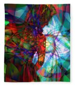 Being Chakra Fleece Blanket
