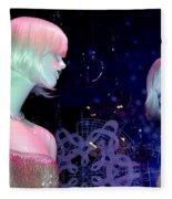 Bejeweled Blondes Fleece Blanket