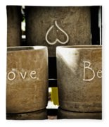 Believe In Love - Photography By William Patrick And Sharon Cummings Fleece Blanket