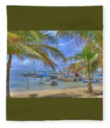Belize Hdr Fleece Blanket