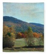 Belknap From Rogers Field Fleece Blanket