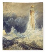 Bell Rock Lighthouse Fleece Blanket