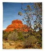 Bell Rock Vista Sedona  Az Fleece Blanket