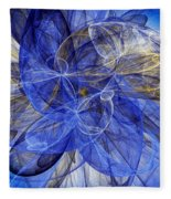 Bella Blue Fleece Blanket
