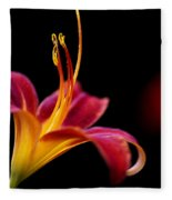 Belladonna Lily Fleece Blanket