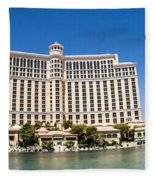 Bellagio Resort And Casino Panoramic Fleece Blanket