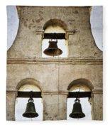 Bells Of Mission San Diego Fleece Blanket