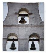 Bells Of Mission San Diego Too Fleece Blanket