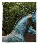 Belmond Charleston Place Horse Fountain Fleece Blanket