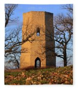 Beloit Historic Water Tower Fleece Blanket