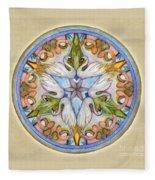 Beloved Mandala Fleece Blanket