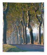 Beloved Plane Trees Fleece Blanket