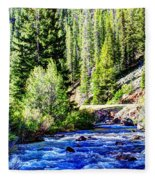 Belt Creek Fleece Blanket