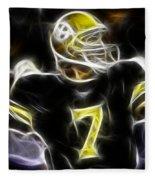 Ben Roethlisberger  - Pittsburg Steelers Fleece Blanket