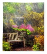 Bench - Tranquility II Fleece Blanket