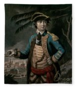 Benedict Arnold Fleece Blanket