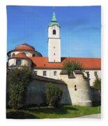 Benedictine Abbey Fleece Blanket