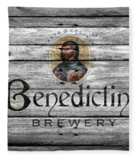 Benedictine Brewery Fleece Blanket