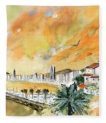 Benidorm Old Town Fleece Blanket