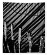 Benone - Shadow Fencing Fleece Blanket