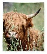 Bent Horn Long Horn Fleece Blanket