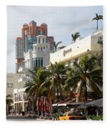 Bentley Hotel Miami Fleece Blanket