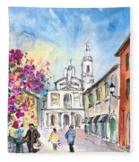 Bergamo Lower Town 01 Fleece Blanket