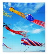 Berkeley Kite Festival 1 Fleece Blanket